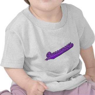 Logotipo de la escritura de Buccaneers en rojo Camiseta
