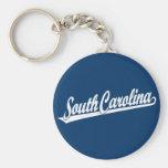Logotipo de la escritura de Carolina del Sur en el Llavero