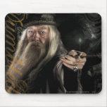 Logotipo de la escritura de Dumbledore Tapete De Ratones