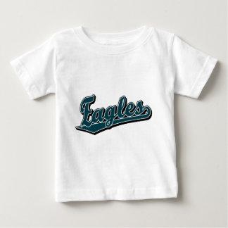 Logotipo de la escritura de Eagles en verde de Camisetas