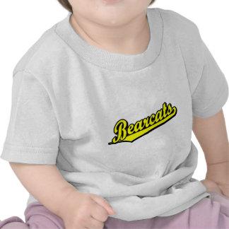 Logotipo de la escritura de los binturong en camisetas