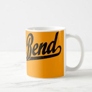 Logotipo de la escritura de South Bend en el negro Taza De Café