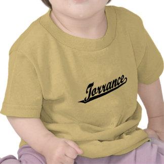 Logotipo de la escritura de Torrance en negro Camiseta
