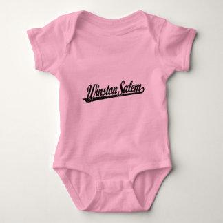 Logotipo de la escritura de Winston-Salem en el Body Para Bebé