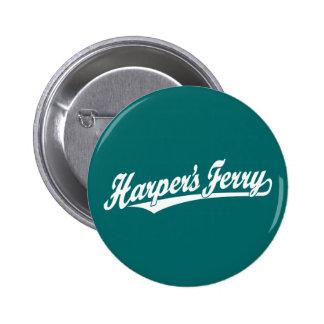 Logotipo de la escritura del transbordador de Harp Pins