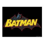 Logotipo de la escuela vieja de Batman el | Postal
