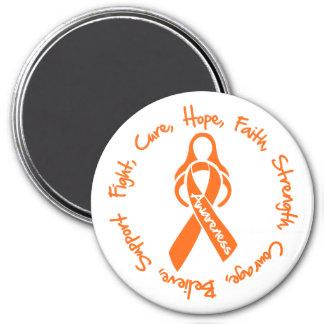 Logotipo de la esperanza de la curación de la luch imán