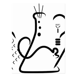 Logotipo de la feria de ciencia postal