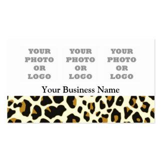 Logotipo de la foto del modelo de la impresión de tarjetas de visita