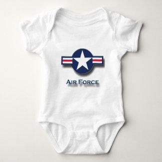 Logotipo de la fuerza aérea body para bebé