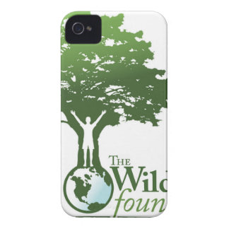 Logotipo de la fundación de Wildwoods iPhone 4 Cárcasa