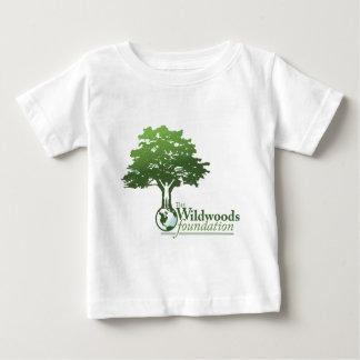 Logotipo de la fundación de Wildwoods Playera De Bebé