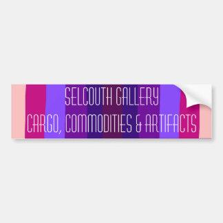 Logotipo de la galería de Selcouth Pegatina Para Auto