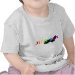 Logotipo de la haba de jalea camisetas