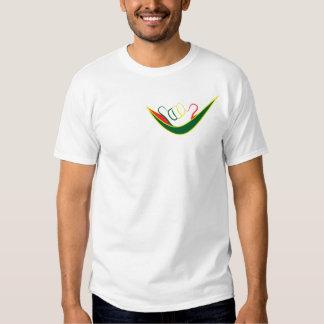 Logotipo de la hamaca de Shakka.  Camiseta Poleras