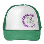 logotipo de la koala gorros bordados