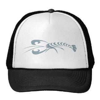Logotipo de la langosta gorras de camionero