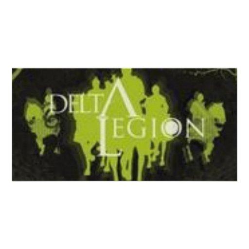 logotipo de la legión del delta tarjeta fotografica