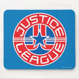Logotipo de la liga de justicia tapete de ratón