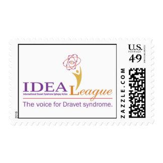 Logotipo de la liga de la IDEA con el tagline 2 Franqueo