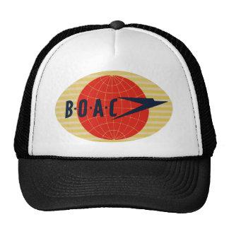 Logotipo de la línea aérea del vintage BOAC Gorras De Camionero