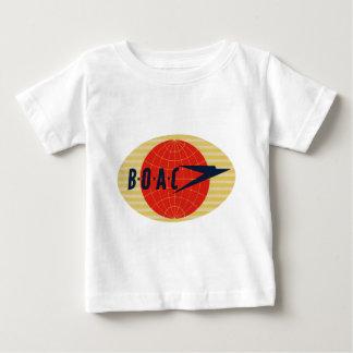 Logotipo de la línea aérea del vintage BOAC Remera