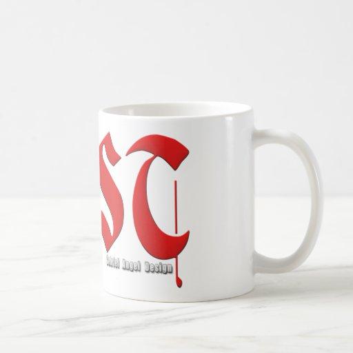 Logotipo de la lujuria tazas de café