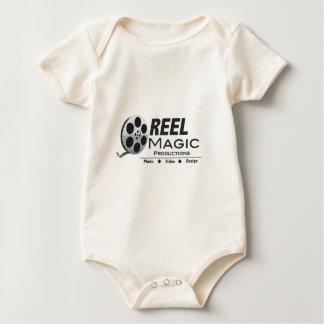 Logotipo de la magia del carrete body para bebé