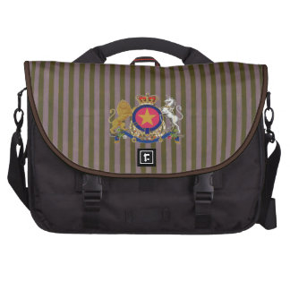 Logotipo de la marca de la estrella de las bolsas para portatil