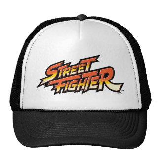 Logotipo de la marca de Street Fighter Gorros