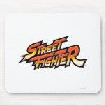 Logotipo de la marca de Street Fighter Tapetes De Ratones