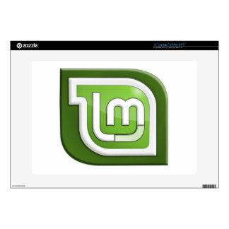 Logotipo de la menta de Linux Skins Para Portátiles