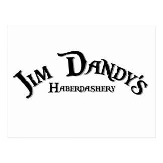 Logotipo de la mercería del chulo de Jim Postal