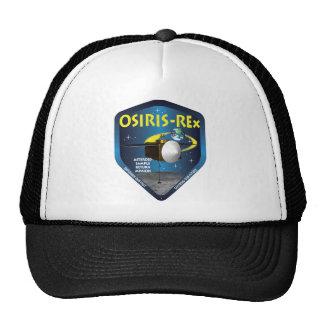Logotipo de la misión de OSIRISREx Gorros