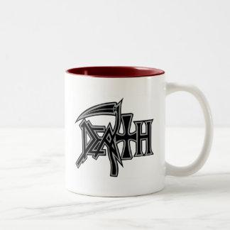 Logotipo de la MUERTE y taza oficiales de la cruza