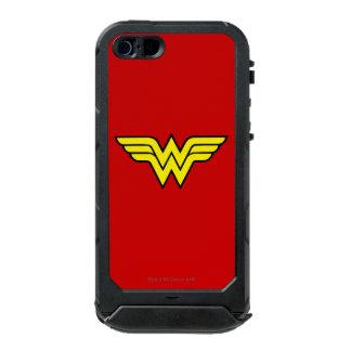 Logotipo de la Mujer Maravilla Carcasa De Iphone 5 Incipio Atlas Id