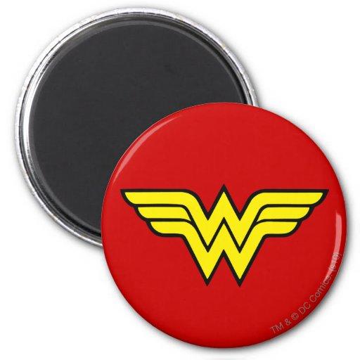 Logotipo de la Mujer Maravilla Iman Para Frigorífico
