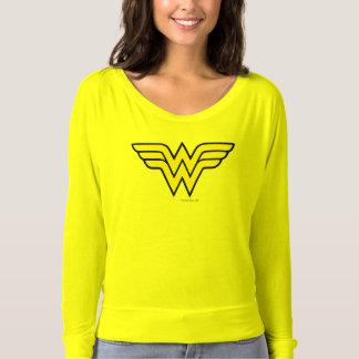 Logotipo de la Mujer Maravilla Remeras