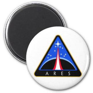 Logotipo de la NASA Ares Rocket Imanes De Nevera