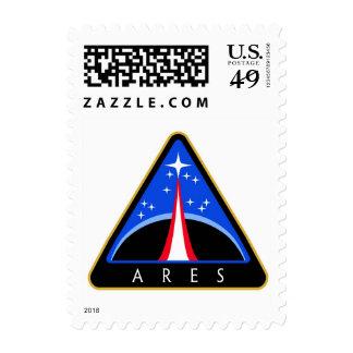 Logotipo de la NASA Ares Rocket Envio