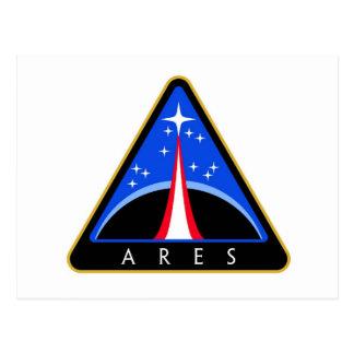 Logotipo de la NASA Ares Rocket Postal