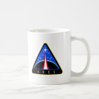 Logotipo de la NASA Ares Rocket Tazas