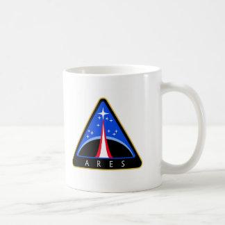 Logotipo de la NASA Ares Rocket Taza De Café