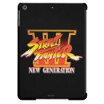 Logotipo de la nueva generación de Street Fighter Funda Para iPad Air