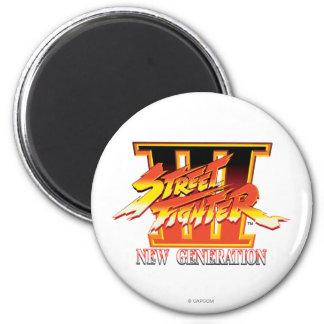 Logotipo de la nueva generación de Street Fighter  Imán