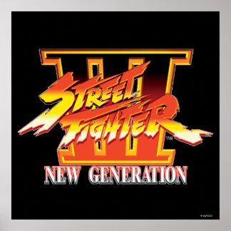 Logotipo de la nueva generación de Street Fighter  Impresiones