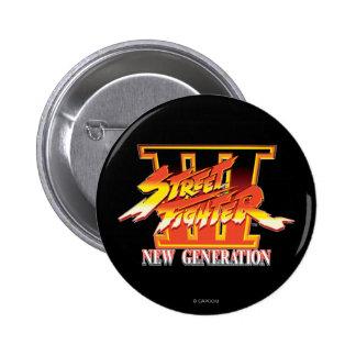 Logotipo de la nueva generación de Street Fighter  Pin