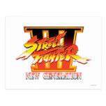 Logotipo de la nueva generación de Street Fighter Postales