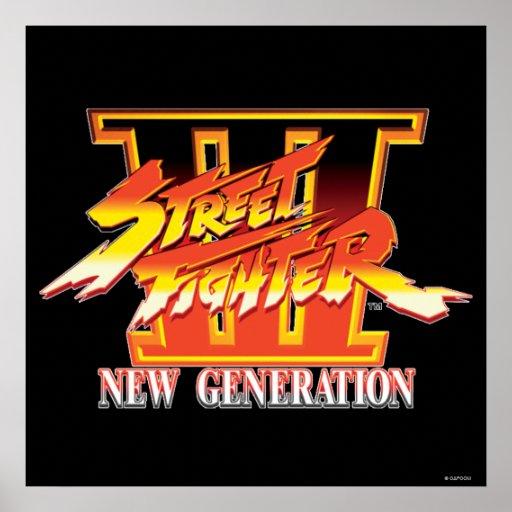 Logotipo de la nueva generación de Street Fighter  Póster