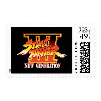 Logotipo de la nueva generación de Street Fighter Sellos